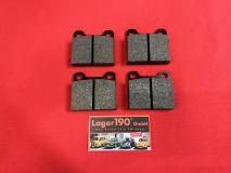 VW Typ 3 ab 08/71-, Typ 4 (411/412) bis 07/72, Bremsklötze Bremsbeläge Scheibenbremse Zweiloch-Befestigung (1241)