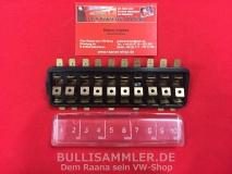 VW Käfer Sicherungskasten 10 Fach Sicherungen (0662-51)