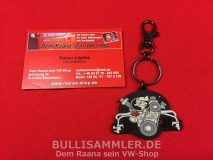 VW Käfer Schlüsselanhänger Käfermotor ORIGINAL VW-Produkt (13-016)