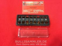 Sicherungskasten 8fach für VW Käfer, Karmann Ghia -07/66 (0662-50)