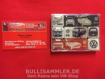 VW Käfer Bus T1 Golf Magnet-Set Retro The Original Ride (-015)