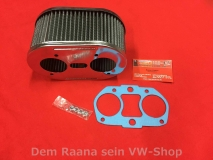 VW Käfer, Bus T1, T2, Sport-Luftfilter Vergaser Weber IDF 85mm (2158-010)