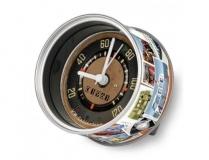 VW Uhr T1 Tacho MyClock Konservenformat Original VW