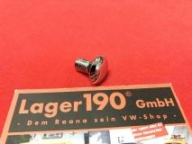 VW Käfer 1200-1300 1302/1303 Schloßschraube glänzend M8x15 (0051-100)