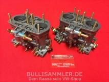 2 Weber 40 IDF 70 Doppelvergaser VW Käfer, Bus, Typ1, Typ4 NEU, Paar, (26-001)