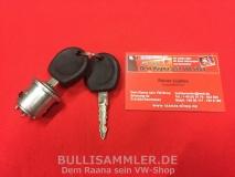Zündschloss mit 2 Schlüsseln für VW Käfer, Bus T2 (0656)