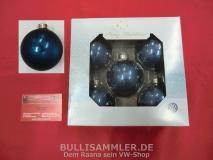 Original VW blaue Weihnachtsbaumkugeln Weihnachten