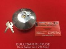 Tankdeckel abschließbar für VW Bus T2 08/67-07/71, 2 Schlüssel