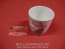 VW Bulli T1 Kaffeetasse / Becher 400ml - blau (-001)