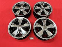 Fuxx Felge 5.5x15 5x205 schwarz/poliert - ohne TÜV -