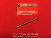 VW Bus T1 64-, T2, T3 Splint für Kronenmutter Hinterachse Radlager 5x85mm (1411)
