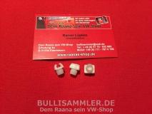 VW Bus T2 T2b Satz Befestigungsclips Emblem vorne (0440-19)