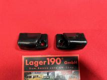 VW Käfer ab 8.67 Halter Clips Sonnenblenden schwarz