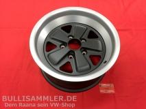 Fuchs-Repliken Schwarz-Silber 8x16 5x130 MIT TEILEGUTACHTEN (54-012)