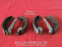VW Golf 1 + 2 Jetta Bremsbacken für 180mm Bremstrommel (45-174)