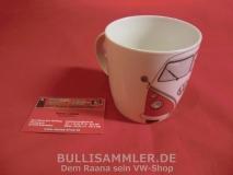 VW Bulli T1 Kaffeetasse / Becher 400ml - rot (-013)