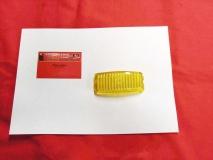 Glas für Nebelscheinwerfer gelb Hella NOS, Käfer Bus T1 T2 Typ3 (31-003)