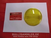 Glas für Nebelscheinwerfer gelb HELLA NOS, Karmann Ghia Typ34