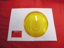 Scheinwerferglas gelb für Käfer -60, Porsche 356 A, symmetrisch (-015)