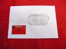 Glas für Nebelscheinwerfer klar HELLA NOS, Porsche 356+911, 190S (-020)