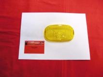 Glas für Nebelscheinwerfer gelb HELLA NOS, Porsche 356+911, 190S (-021)