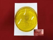 *Einzelstück* Scheinwerferglas gelb H4 für Porsche 911/964, BOSCH re.+li. (31-027)