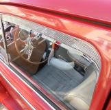 VW Käfer bis 63 Frischluftgitter Lüftungsgitter Chrom Poliert (01-037)