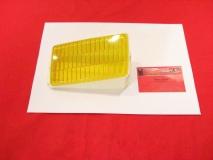 Glas für Nebelscheinwerfer rechts gelb BOSCH, Porsche 911/930 (-032)