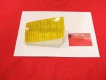 Glas für Nebelscheinwerfer links gelb BOSCH, Porsche 911/930 (-033)