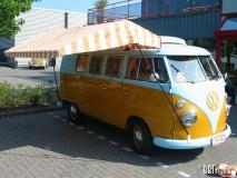 VW Bus T1 Westy Zeltstoff, gelb/grau