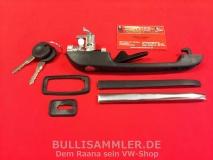 VW Golf/Jetta/Polo/Scirocco Türgriff schwarz mit Schloss vo. li. (45-205)