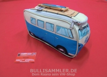 LunchBox VW Bulli T1 mit Thermofunktion (isoliert), blau