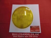 Scheinwerferglas gelb für Porsche 901/911/912 SWB BOSCH (31-029)