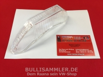 VW Typ3 1500 1600 Blinkerglas klar HELLA Made in Germany (17-139)