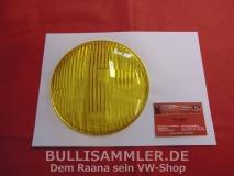 Karmann Ghia Typ14 NOS HELLA Glas Hauptscheinwerfer gelb