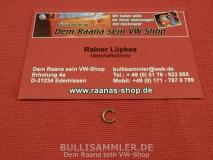 VW Käfer Sicherungsring für Türfänger Türfangband ORIGINAL VW