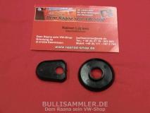 VW Käfer bis 67 Unterlage Haubengriff Kofferraumhaubengriff schwarz (0722)