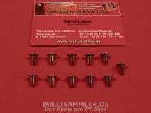 VW Käfer Nieten für den Verdeckbezug Faltdach 11-teilig