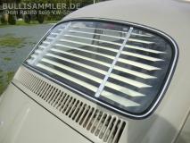 VW Käfer 64-71 und 78-03 Heckscheibenjalousie Jalousie Heckjalousie (0348-02)