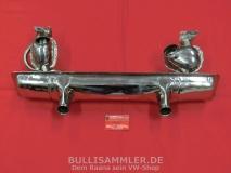 Auspuff für VW Käfer EDELSTAHL 1200 34PS 01.63-12.85 einfache Vorwärmung (45-236)