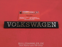 VW Schriftzug Typenschild Emblem VOLKSWAGEN 171.853.685A FQ8 (13-053)