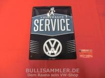 VW Volkswagen Service Blechschild groß 30x40cm (-006)