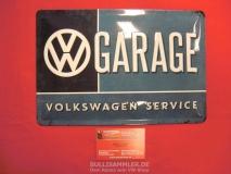 VW Volkswagen Service Garage Blechschild 20x30cm (-007)
