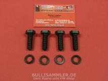 VW Käfer 1303 ab 01/74 Befestigungsschrauben Schellen Stabilisat