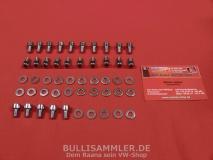 VW Käfer Bus T1 T2 T3 Montagesatz Motorverblechung Schrauben (8000)