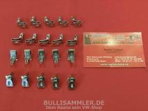 VW Bus T2 T3 Klammern Clips Türverkleidung 20 Stück (0409-550)