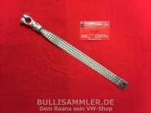VW Käfer Massekabel / Masseband 33cm mit Klemme (0634-2)