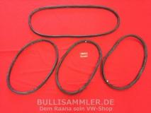 VW Käfer Ovali 53-57 Satz Scheibendichtungen Cal-Look (0300)