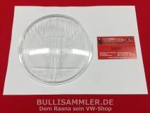Glas Scheinwerfer 160mm klar HELLA passt u.a. bei VW Typ82 (31-045)