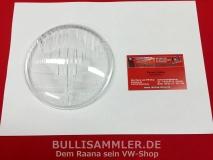 Glas Scheinwerfer 130mm klar HELLA passt u.a. bei VW Typ82 (31-046)